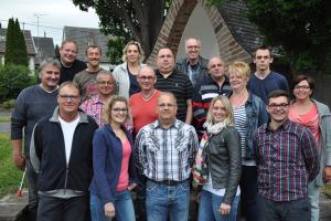 Vorstand KV Strempt 2015