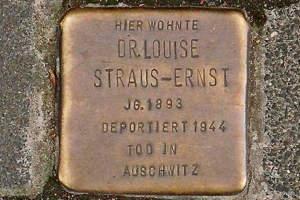 StolpersteinStraus-Ernst